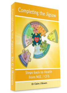 M.E. / CFS Recovery Manual - Dr Claire Bowen - Completing the Jigsaw - Updated 2016