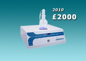 Second hand Airnergy Professional plus 2010 £2000