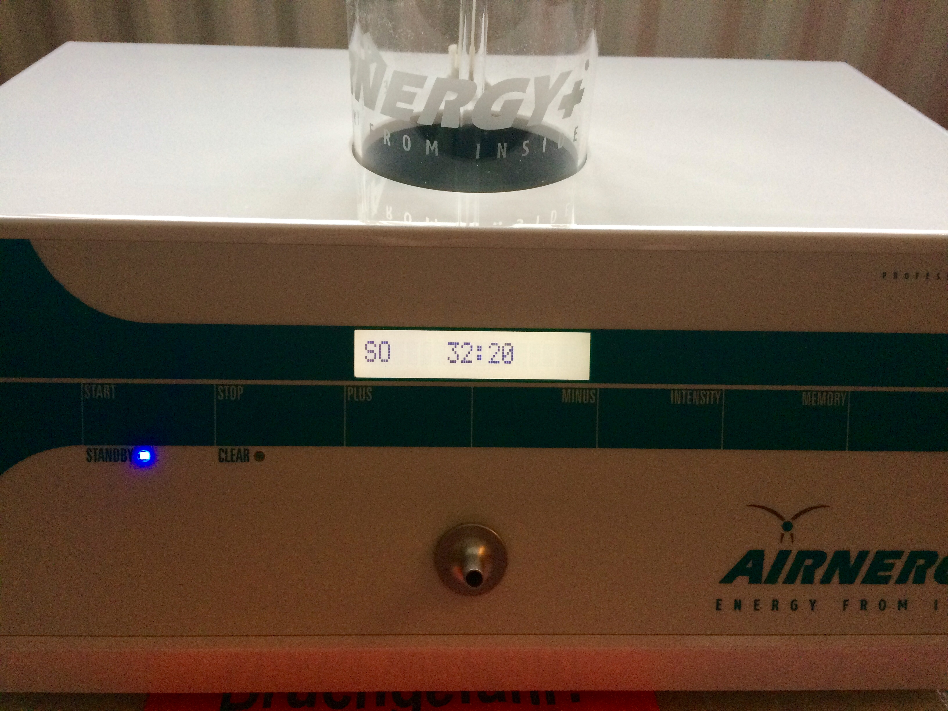 Secondhand Airnergy 2016 Activated Oxygen Therapy Discount from Unique Perceptions